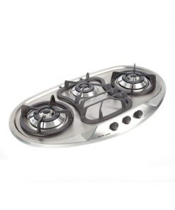 Tecno stainless steel built-in hob SR398SV