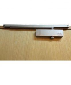 Nika (Japan) slide arm door closer silver