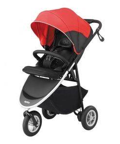 Aprica Smoove red pushchair