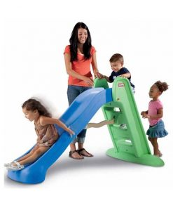 Little Tikes Easy Store Large Play Slide with children