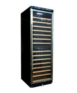 EuropAce 155 bottles dual zone wine cooler EWC6155S