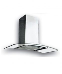 Uno 90cm glass chimney hood UP9188