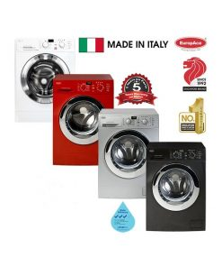 EuropAce 10kg Deluxe front load washer EFW8100T