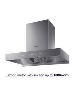 Tecno 90cm high suction chimney hood KD3288