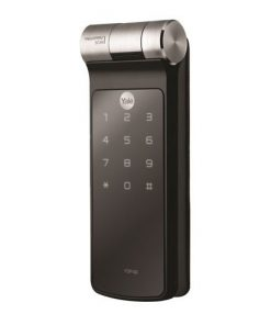 Yale YDF40 fingerprint digital door lock front view