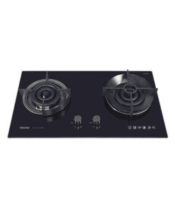 Tecno 78cm Built-In Glass Cooker Hob with True Triple Ring Burners T 278TGTRSV